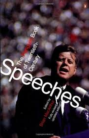 The Cover of Penguin Book to 20th Century Speeches